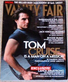 Vanity Fair 2000 Tom Cruise Jack Kerouac Frank Gehry