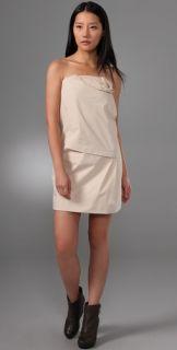 Hanii Y Rosette Detailed Tube Dress