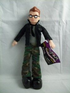 Look Jack Osbourne Doll Action Figure 2002 Black Neat