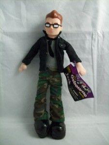 Look Jack Osbourne Doll Action Figure 2002 Black Neat