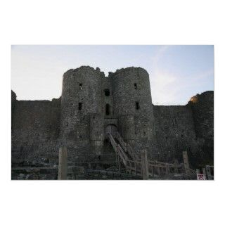 Harlech castle. Built by King Edward 1 in the thirteenth century.