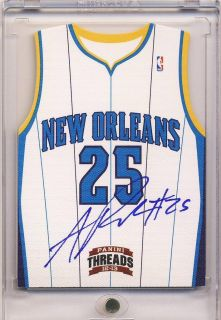 Austin Rivers 12 13 Panini Threads Team Threads Auto on Card 25