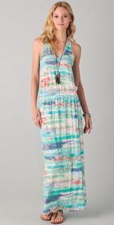 C&C California Zigzag Print Maxi Dress