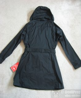 NWT The North Face Grace Trench Waterproof Rain Coat Jacket Size L TNF