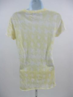 Jakes Dry Goods Yellow T Shirt Crew Neck Sz M $60