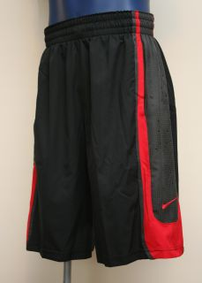 Nike Lebron James GT9 Mens Basketball Shorts Black Sport Red 439163