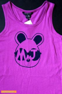 Kids Little Marc Jacobs Girl Hickory Logo Print Tank Pink Dress Sz 9