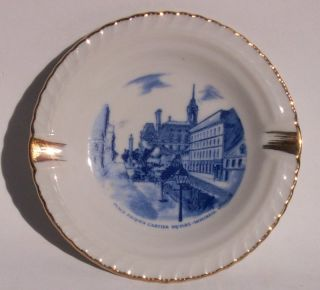 Porcelain Ashtray Place Jacques Cartier Sq Montreal QC