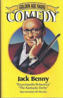 Jack Benny Golden Age Radio Comedy Cassette