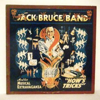 Jack Bruce Band LP Hows Tricks 1977 RSO Cream
