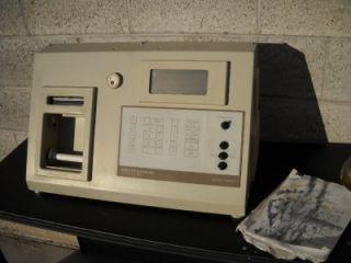 James Cox and Sons CS8200 C Profilograph Recorder Unit Only w Case