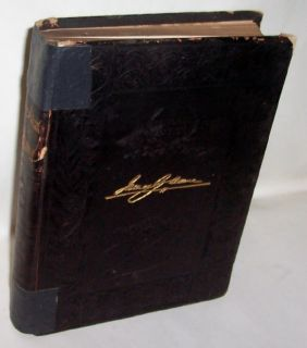 Life Work of James G Blaine by Ridpath HC 1893 Leather Maine