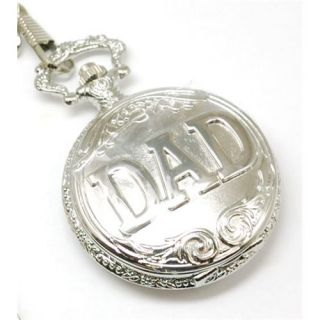 Fathers Day Jakob Strauss Dad 12 Chain Pocket Watch Christmas Gift