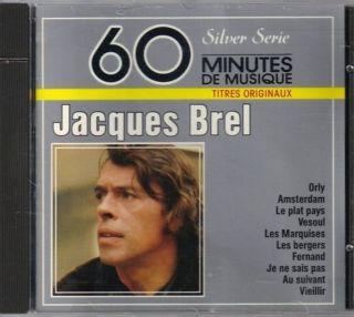 CD Jacques Brel Jacques Brel Silver Series Import