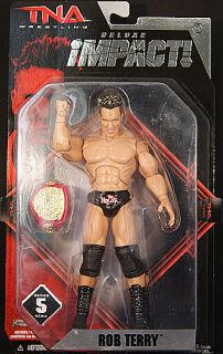 Rob Terry TNA Deluxe Impact 5 Toy Wrestling Action Figure