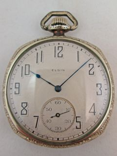 Model 3 Open Face 19 Jewel PocketWatch Grade 193 BW Raymond? ~No Res