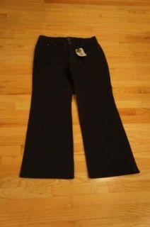 Jag Jeans Stretch Boot Cut Black Denim Jeans 14W New