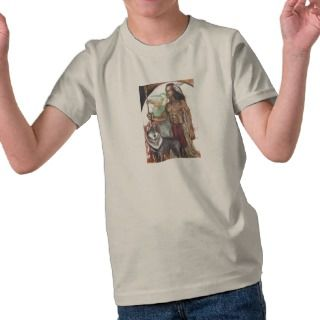 Indian & Wolf Kids Organic T Shirt
