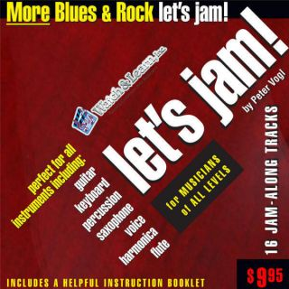 Lets Jam Play Along CD Tracks Bands More Blues Rock
