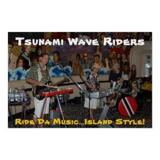 Tsunami Wave Riders @ Planet Hollywood Poster