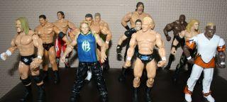 WWE Wrestling Figures HHH Khali Mr Ass Batista Deluxe WWF TNA UFC