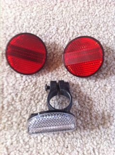 Jesse James West Coast Chopper Bike Bicycle Part 3 Reflectors