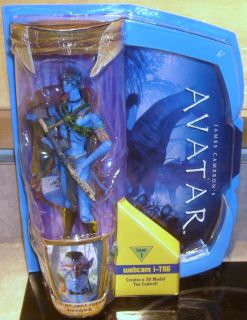 James Camerons Avatar Movie Masters Warrior Jake Sully Action Figure