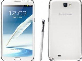 Galaxy Note II SGH i717 16GB Ceramic White at T Leather Case