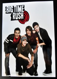 Big Time Rush Poster 13 x 19 James Maslow Pin Up BTR