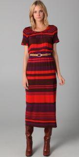 Marc by Marc Jacobs Irregular Stripe Jersey Dress