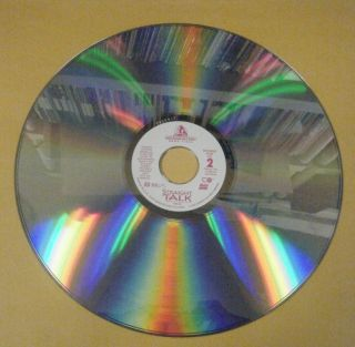Straight Talk Laser Disc Dolly Parton James Woods Michael Madsen 1992