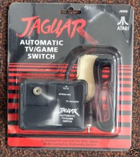 Atari Jaguar Official Automatic TV Game Switch RF New