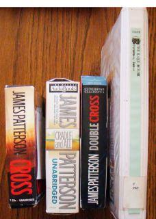 James Patterson Unabridged 4 Audiobooks on Cassette Tapes CDs