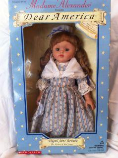 Madame Alexander Porcelain Doll Abigail Jane Stewart