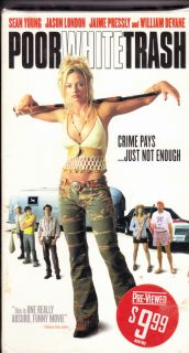 Poor White Trash VHS 2001JAIME Pressly Sean Young