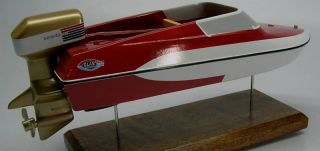 GT 150 Glastron Ski Boat James Bond 007 Wood Model XXL Planeshowcase