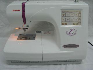 Janome Memory Craft 350E Computerized Embroidery Machine