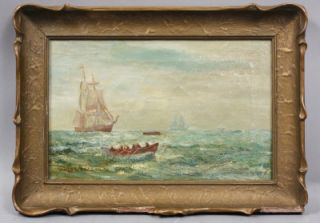 James Gale Tyler Historic Whale Hunt Alaskan Sail Boat Signed Major