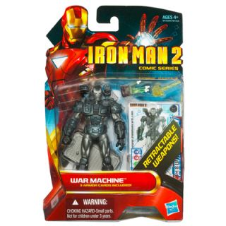 Iron Man 2 Movie Series War Machine Retractable Weapons