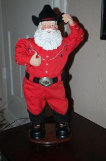 Christmas Rock Cowboy Santa Claus Singing Alan Jackson Animated