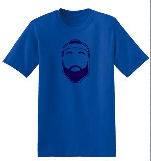 Fear The Beard OKC Thunder James Harden Blue T Shirt White T Shirt