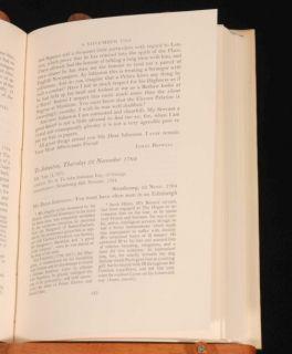 1966 James Boswell Letters John Johnston Walker Yale