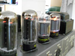 Stromberg Carlson AU 36 Tube Amplifier Working