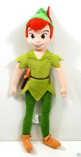 Peter Pan Plush Doll 20 H New with Tags Fairies Tinker