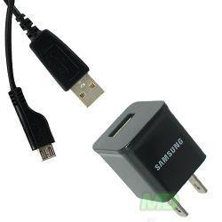 OEM Samsung DROID CHARGE ETA0U80JBE Wall Charger Micro USB Travel Home