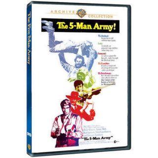 FIVE MAN ARMY DVD Peter Graves James Daly Bud Spencer Nino Castelnuovo