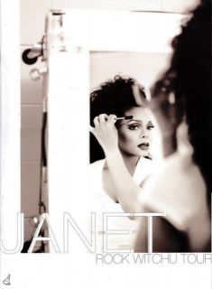 Janet Jackson 2008 Rock Witchu Tour Program Book