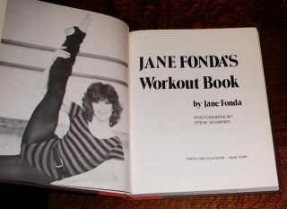 RARE 1st Ed Jane Fondas Workout Book 1981 1st Printing 0671432176