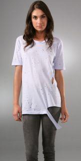 Nightcap Clothing Ripped Boyfriend Shirt