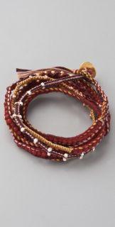 Chan Luu Red Coral Wrap Bracelet